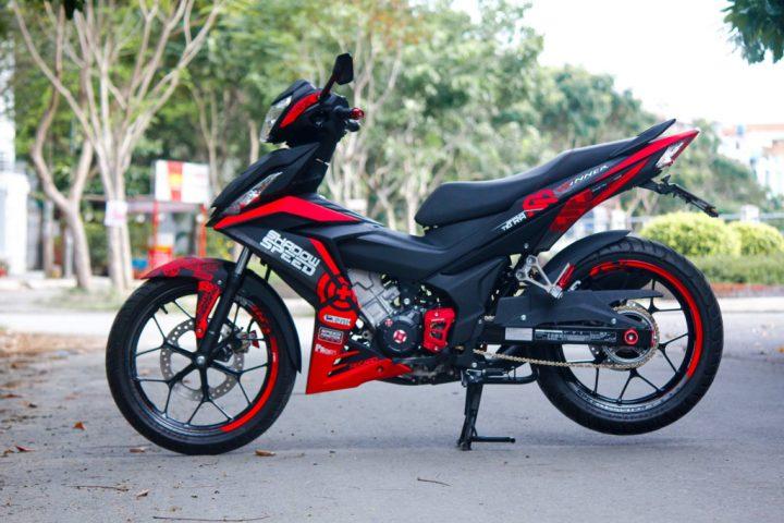 5 chiec Honda Winner 150 do an tuong o Viet Nam nam 2016 hinh anh 4