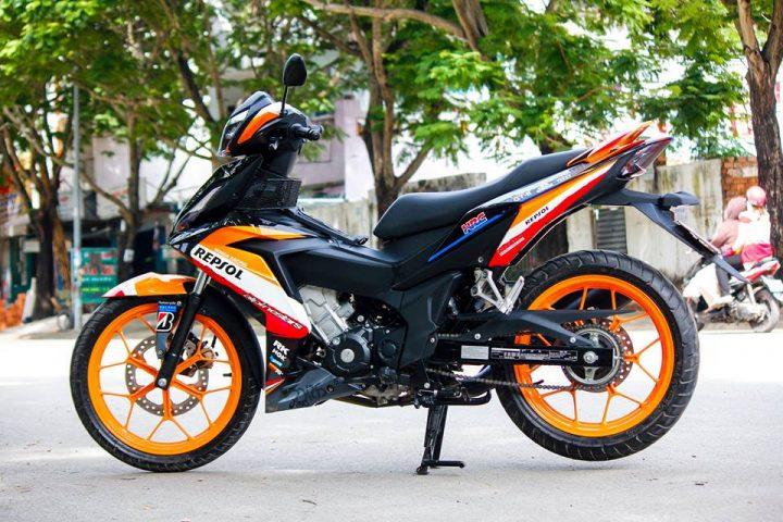 5 chiec Honda Winner 150 do an tuong o Viet Nam nam 2016 hinh anh 5