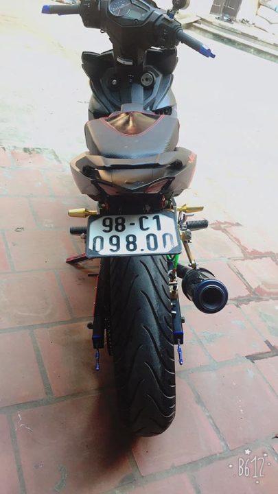 Exciter 150 do nhe voi doi chan day co bap cua biker Bac Giang - 7