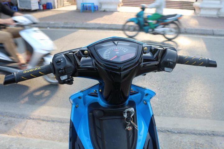 Exciter 135 do kieng nhe nhang tao buc pha cua biker Ha Noi - 5