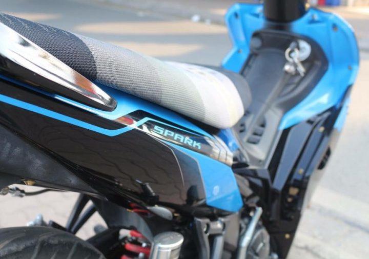 Exciter 135 do kieng nhe nhang tao buc pha cua biker Ha Noi - 8
