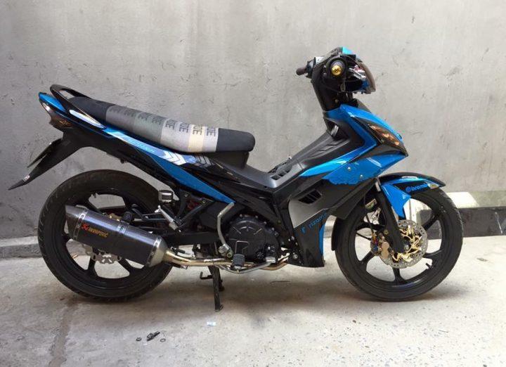 Exciter 135 do kieng nhe nhang tao buc pha cua biker Ha Noi - 9
